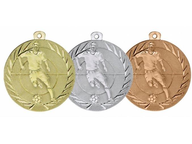 Medaile fotbal ME75
