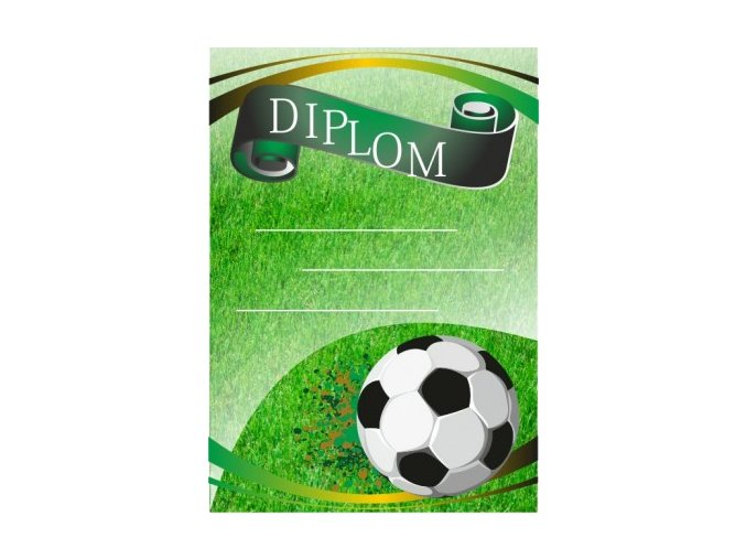 Diplom velký fotbal