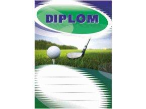 Diplom velký golf
