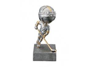 Soška lední hokej hráč