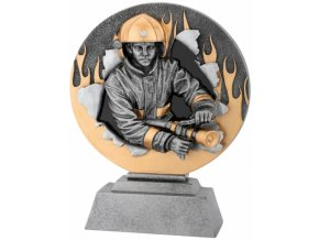 Soška hasič