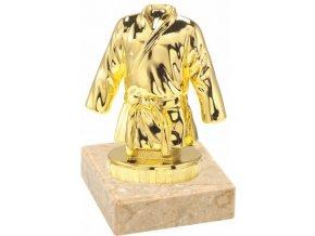 Figurka zlatá kimono