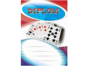 Diplom velký karty