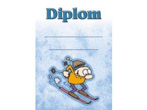 Diplom malý lyžování