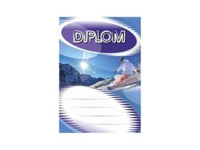 Diplom velký snowboard