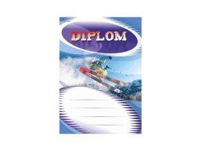 Diplom velký lyžování