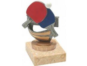 Figurka barevná stolní tenis