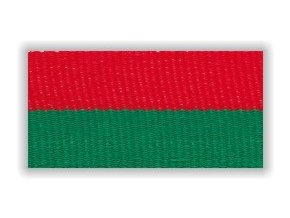 Stuha s karabinou V2CZ - červená zelená