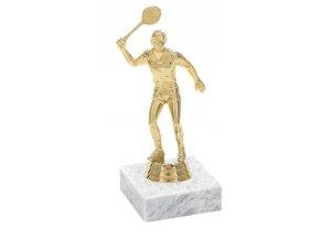 Figurka zlatá squash