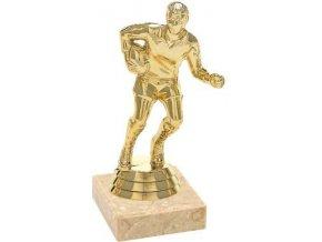 Figurka zlatá ragby