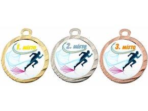 Medaile běh MA115