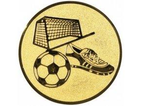 Emblém fotbal branka
