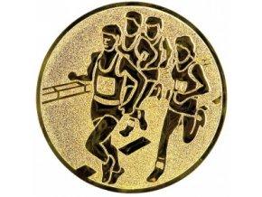 Emblém běh skupina