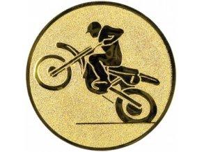 Emblém motokros