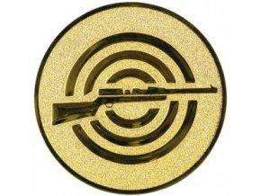 Emblém puška