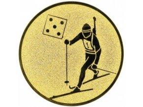 Emblém biatlon