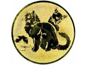 Emblém kočky