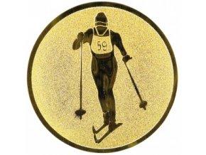 Emblém lyžování klasické