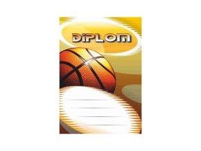 Diplom velký basketbal