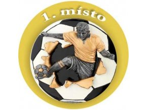 Emblém fotbal 1.místo