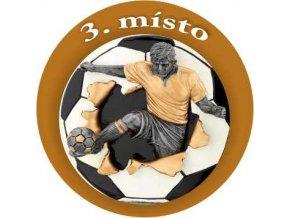 Emblém fotbal 3.místo