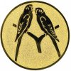 Emblém papoušci