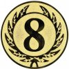 Emblém číslice 8