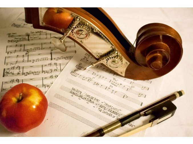 Zátišie s hudbou