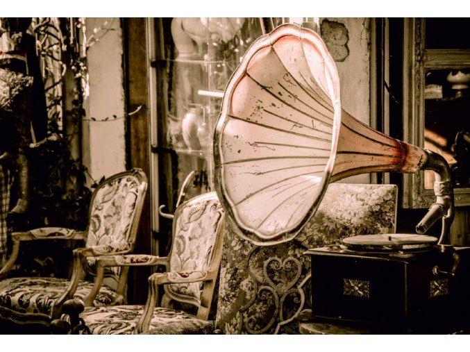 Gramofón, vintage