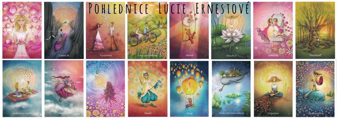 Pohlednice Lucie Ernestové