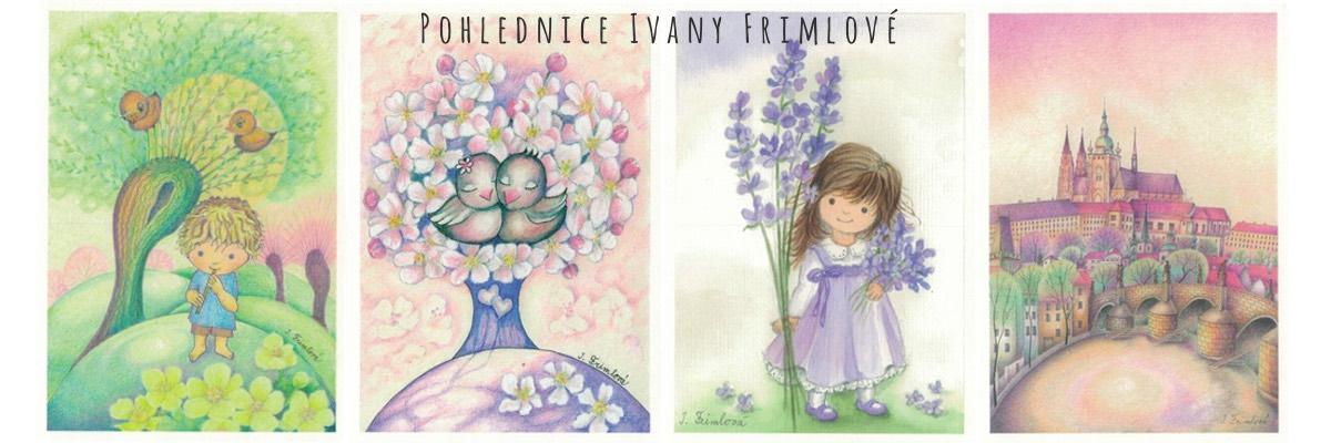 Pohlednice Ivany Frimlové