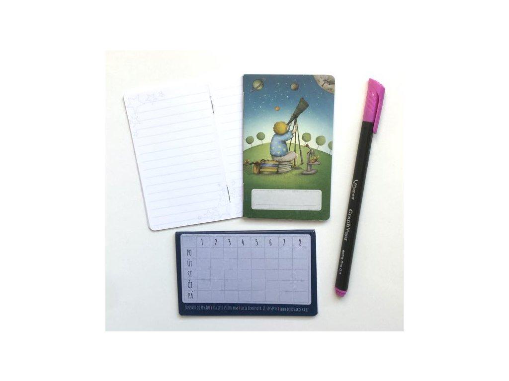 Mini zápisník Poznání