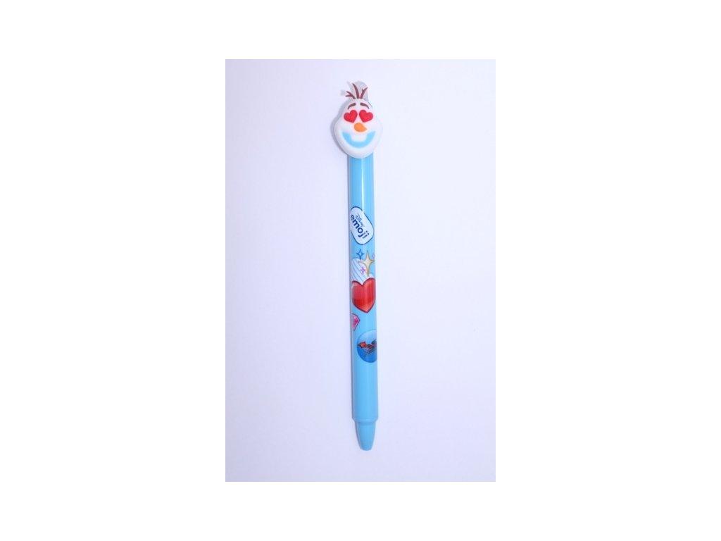 Gumovací pero Frozen - Olaf