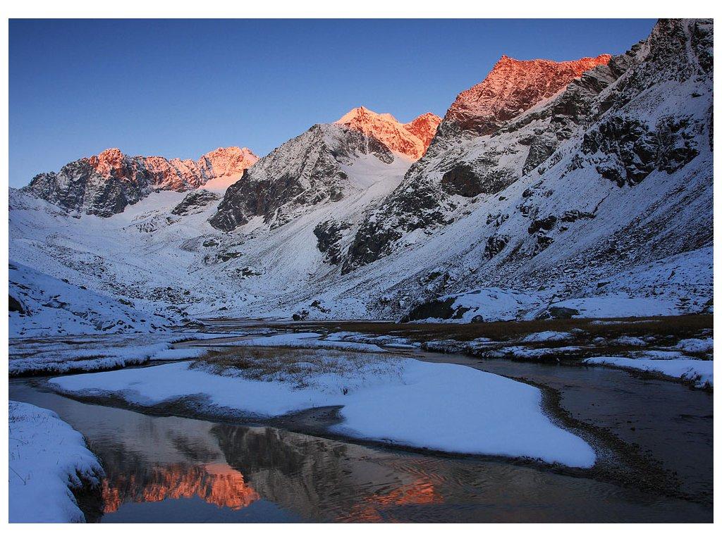 Pohlednice Alpy