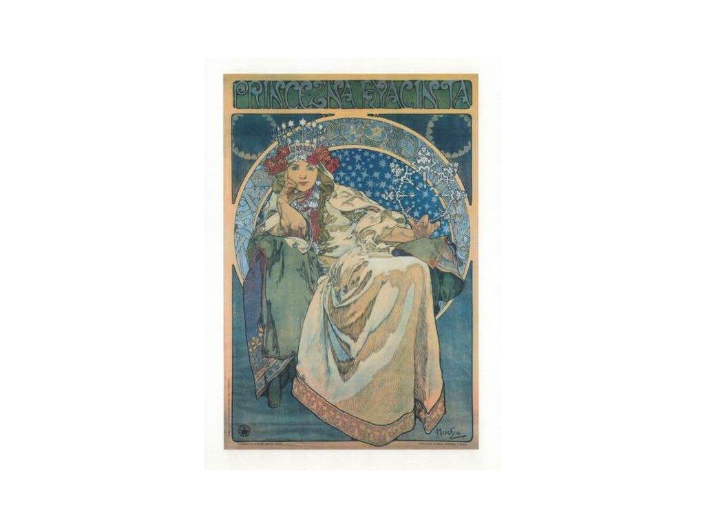 Pohlednice A. Mucha - Princess Hyacinth
