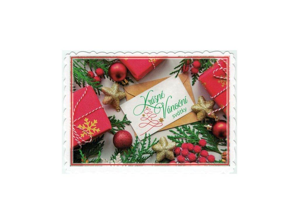 Pohlednice Krásné Vánoční svátky