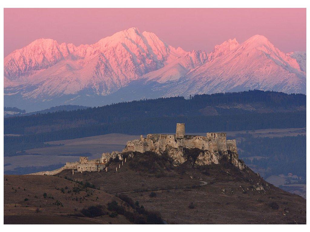 Pohlednice Spišský hrad, Slovensko