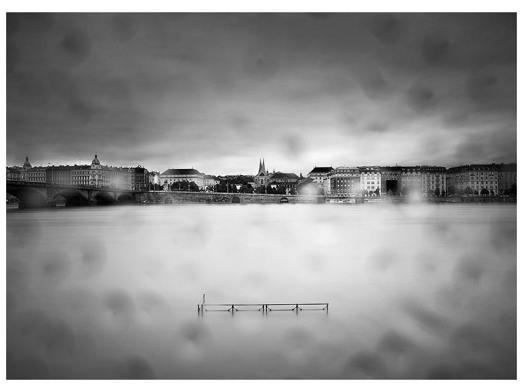 Pohlednice Emauzy, Praha