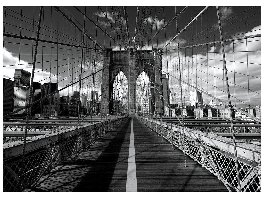 Pohlednice Brooklyn Bridge