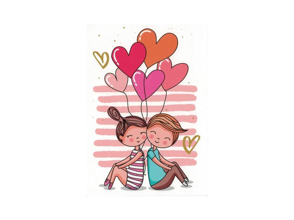 Pohlednice Zamilovaní