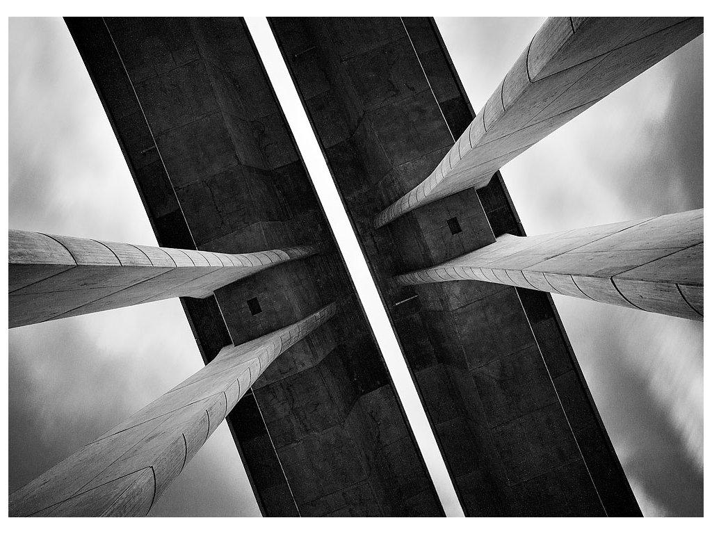 Pohlednice Pod mostem