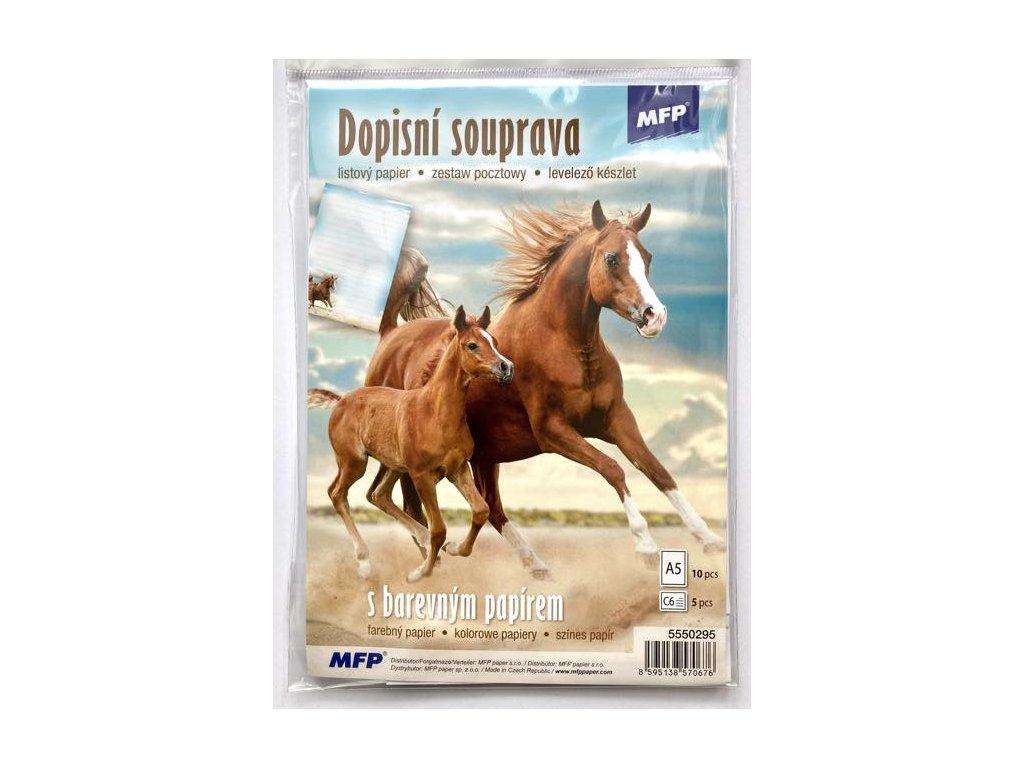 Dopisní sada Koně