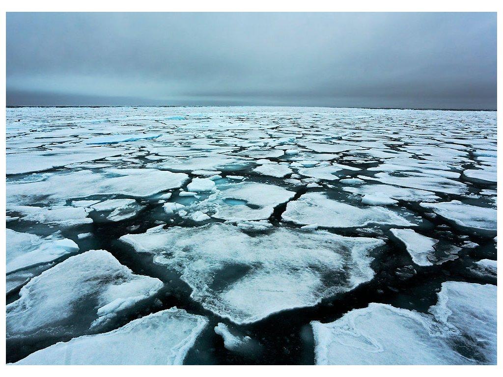 Pohlednice Plovoucí led v Arktidě