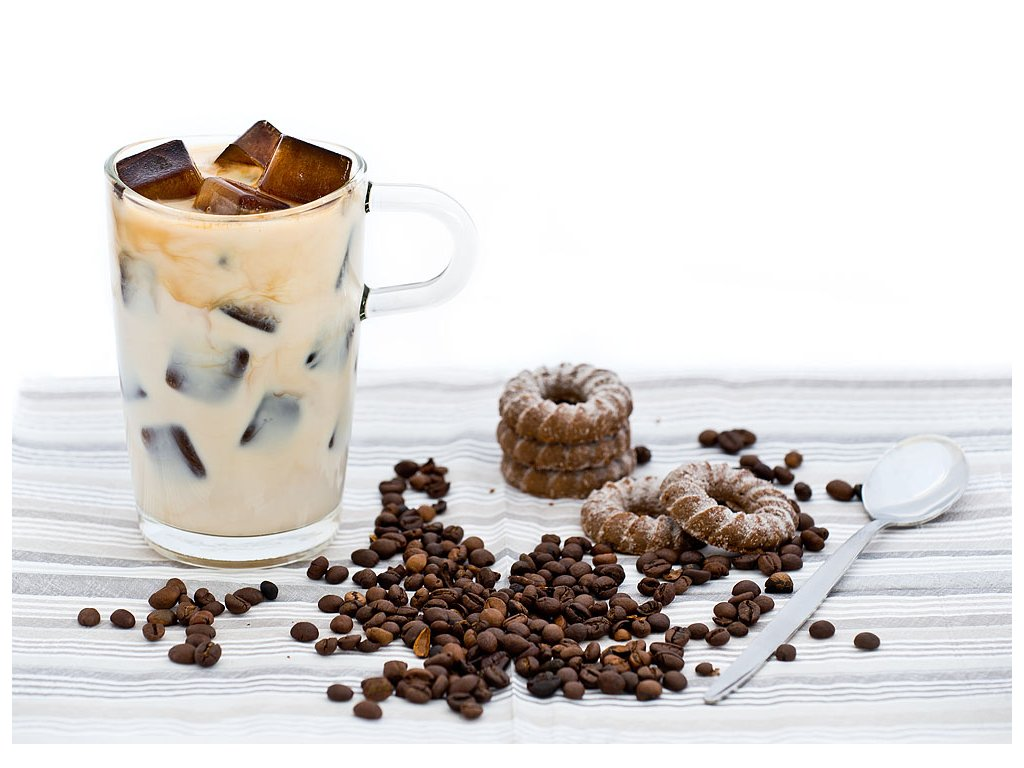 Pohlednice Ledová káva