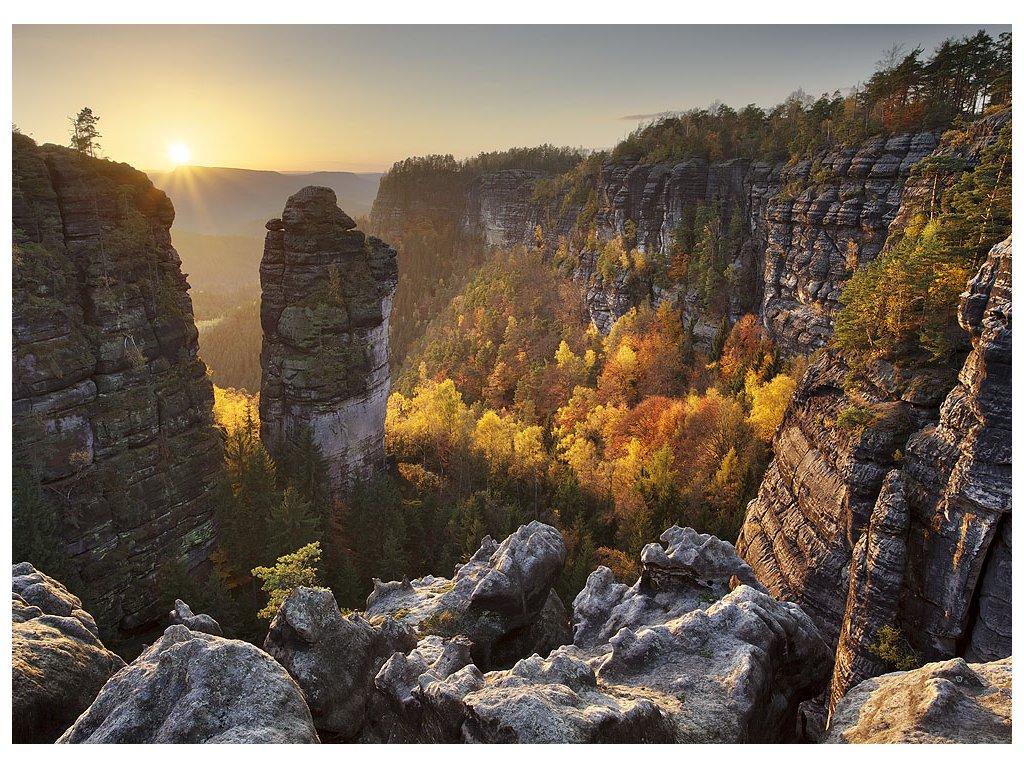 Pohlednice Pravčický důl