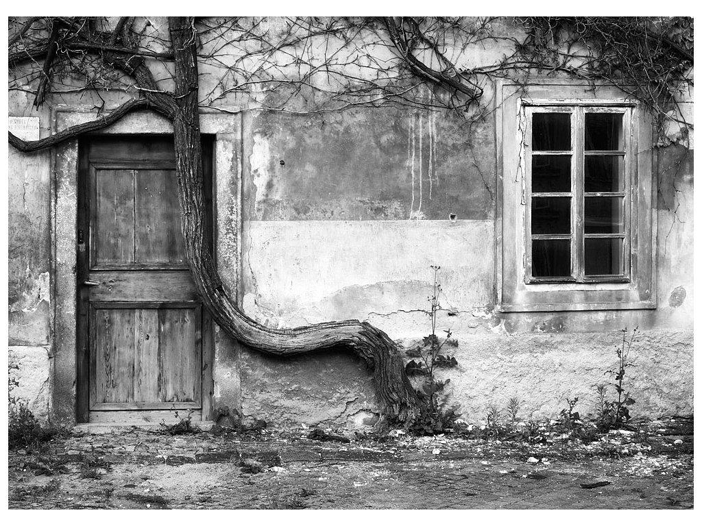 Pohlednice Zákoutí s dveřmi