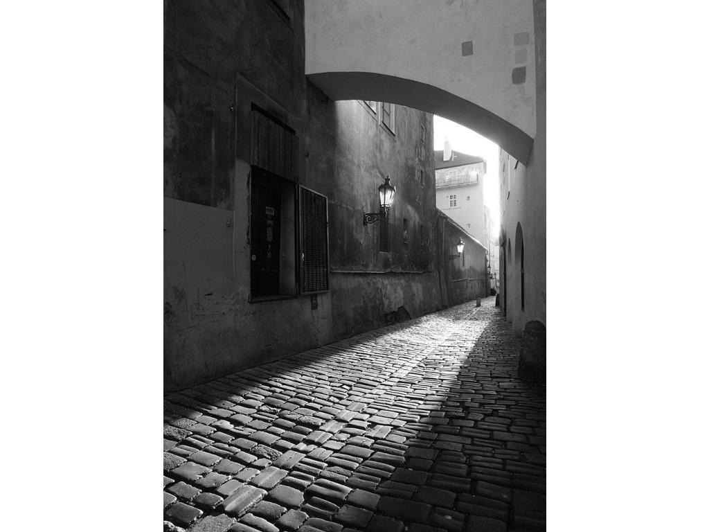 Pohlednice Saská ulice
