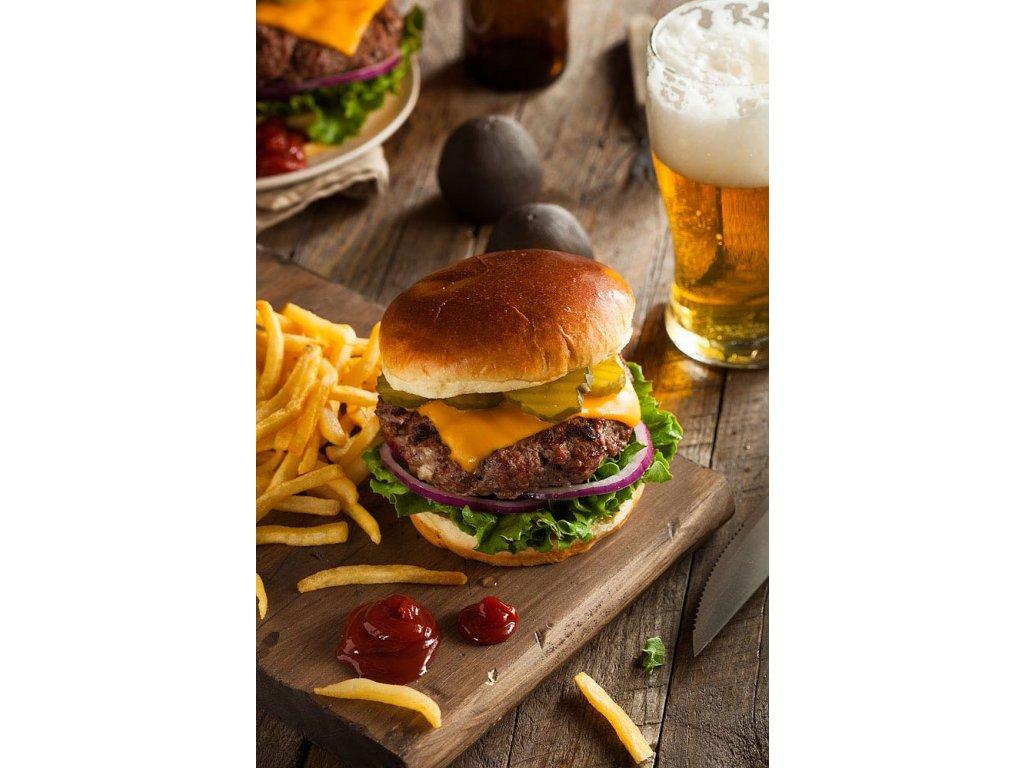 Pohlednice burger