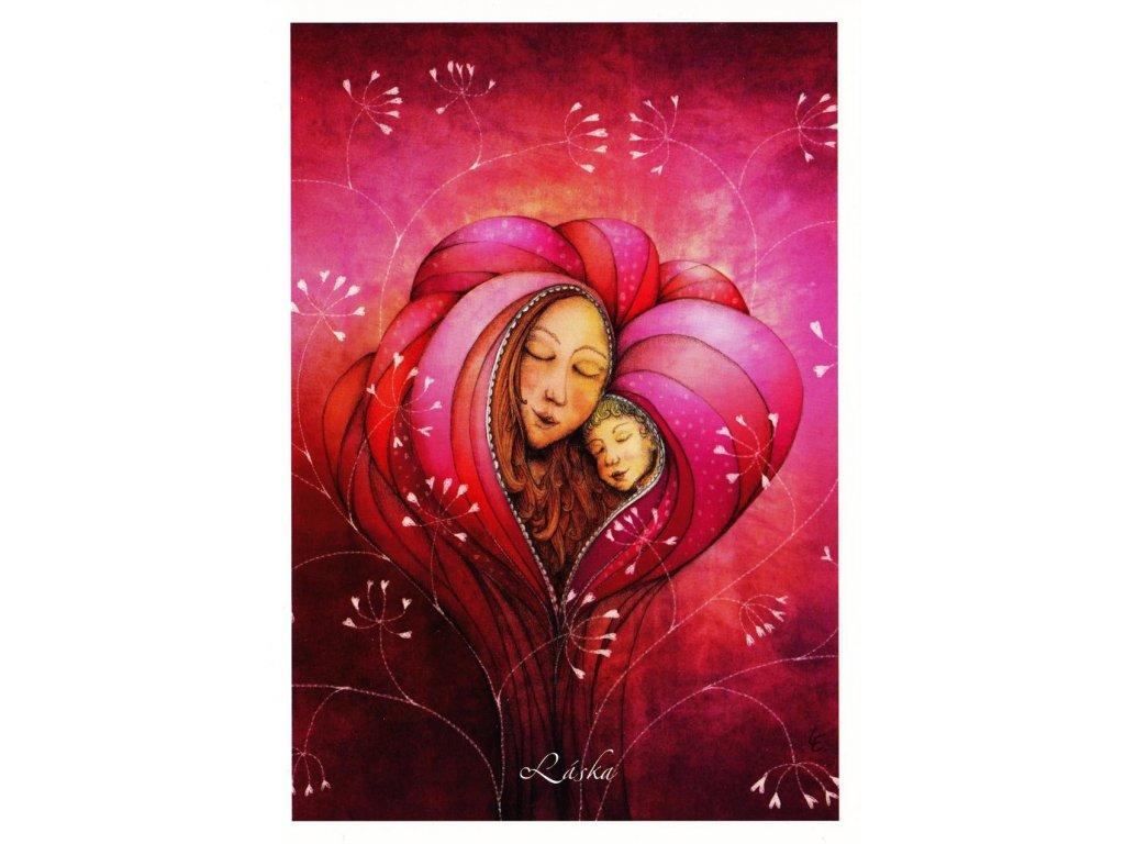 Pohlednice Láska