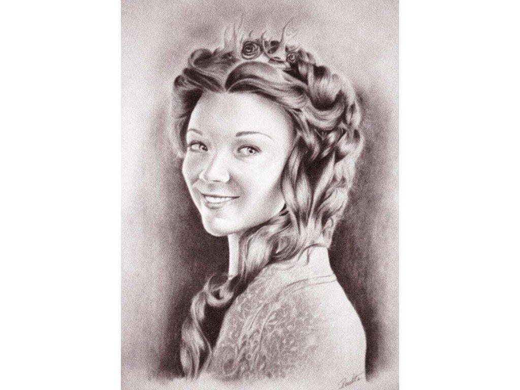 Pohlednice Margaery Tyrell - Hra o trůny